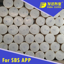 Polyester felt for SBS APP Modified bitumen waterproof membrane