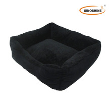 Reversible breathable fabric electric heated pet bed, cooling in summer but super soft