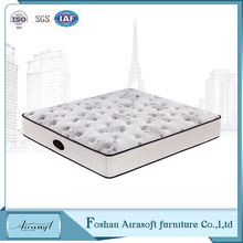 Factory price compressed foam brocade fabric memory foam bedroom mattress for hotel