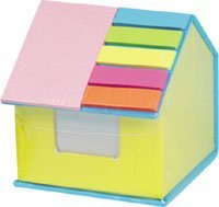 house-shaped memo pad