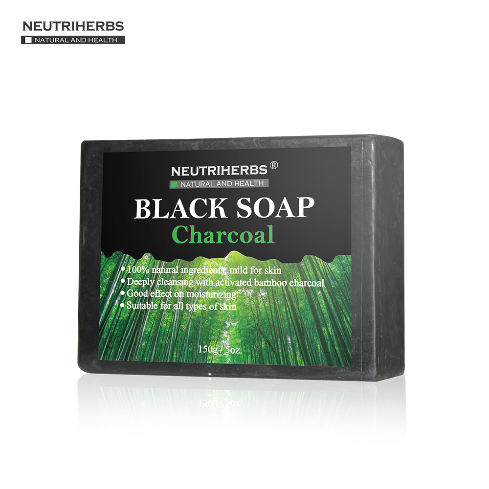 Best Black Soap for Dry Skin with Cocos Nucifera Oi & Charcoal Powder for Oil Free Face Soap