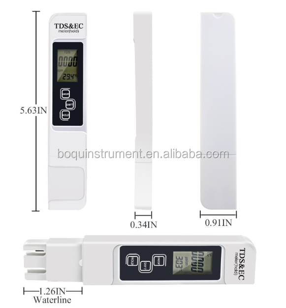 Digital 3 in 1 TEMP/TDS/EC meter(TDS&EC)