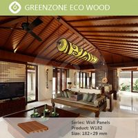 Modern design green builiding material wood plastic non-toxic pvc ceiling wall panel