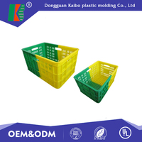 Precision injection mould plastic for household box with top prie