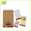Top-sale Recycled notebook with pen, promotion recycled notepad