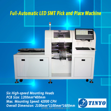 Full-Automatic and High Speed LED Pick and Place Machine