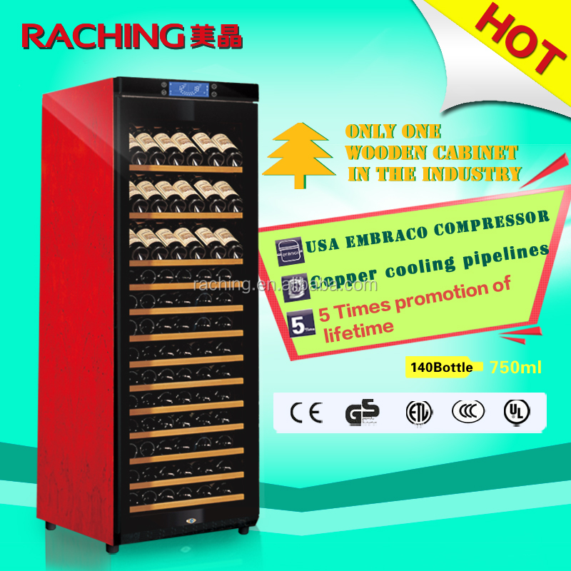 Compressor Wine Cooler/Upright Display Wine Fridge/Home Wine Chiller