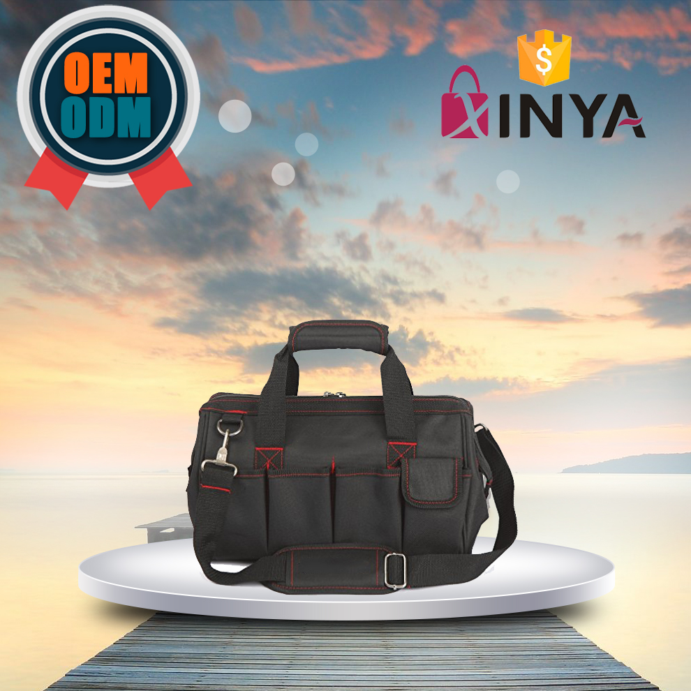 Hot Sell Large Mens Black Duffle bag best travel bags