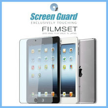 Professional screen guard for apple ipad mini/ipad 2/new ipad