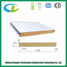 Mineral wool sandwich panels in Indonesia