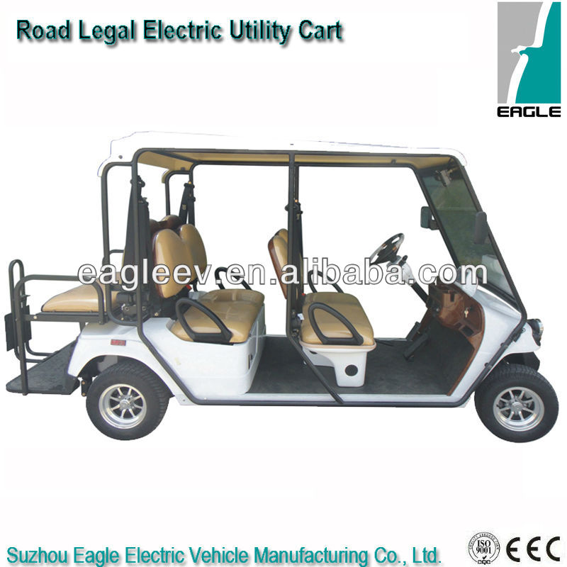 Street legal electric golf utility buggy, CE approved, EG2048HSZR-01