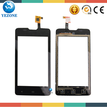 Black and White Color Original New Touch Digitizer For Fly IQ449 Pronto LCD Touch Panel, Front Lens Glass For Fly IQ449