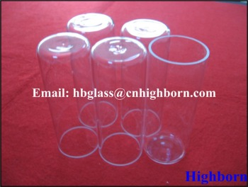 high temperature stain fused silica quartz tube