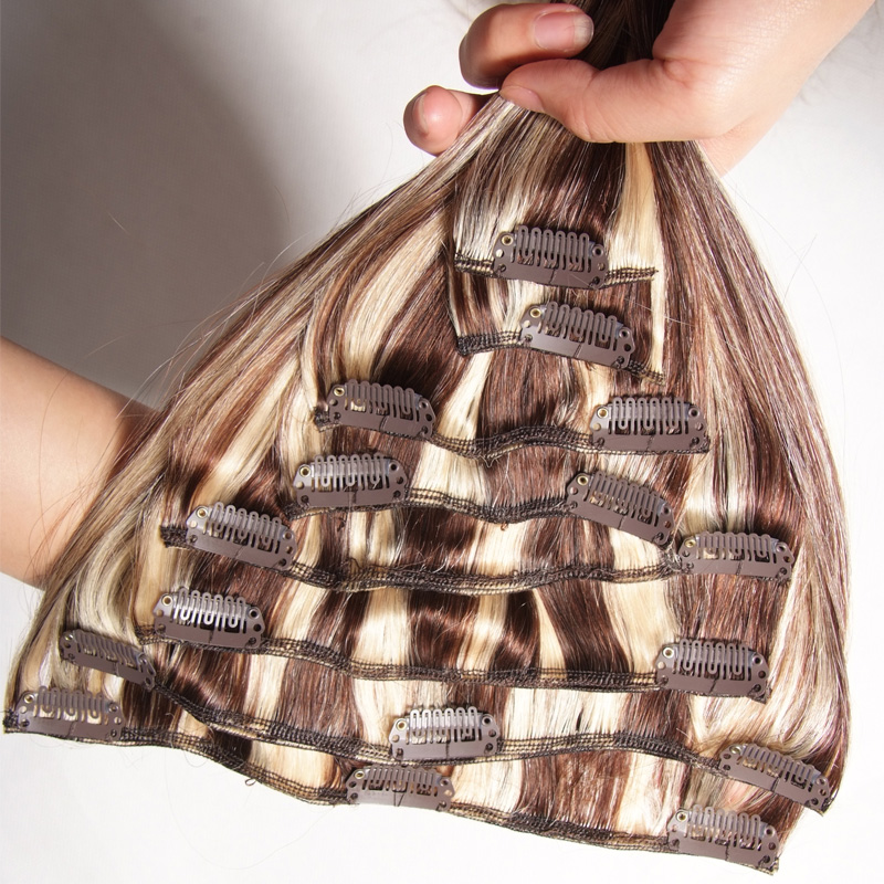 Best Selling Premium Afro Hair Clip In Extensions For African American