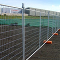 6ft galvanized Australian temporary welded metal mesh fence panels