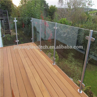 Jinyao 12mm tempered glass fence panels from factory