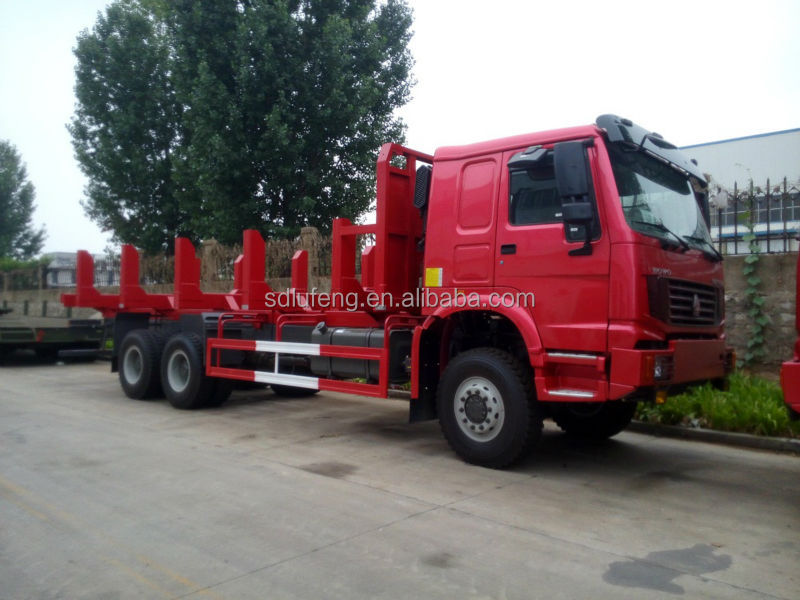 SINOTRUK HOWO Chassis Log Truck / Logging Transporter / Mobile Bee-keeper