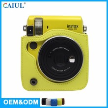 Waterproof Yellow Color Fancy Simple Design Elegant Korea Camera Bag For Fujifilm Instax Mini 70