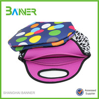 Outdoor promotion portable insulated neoprene lunch bag
