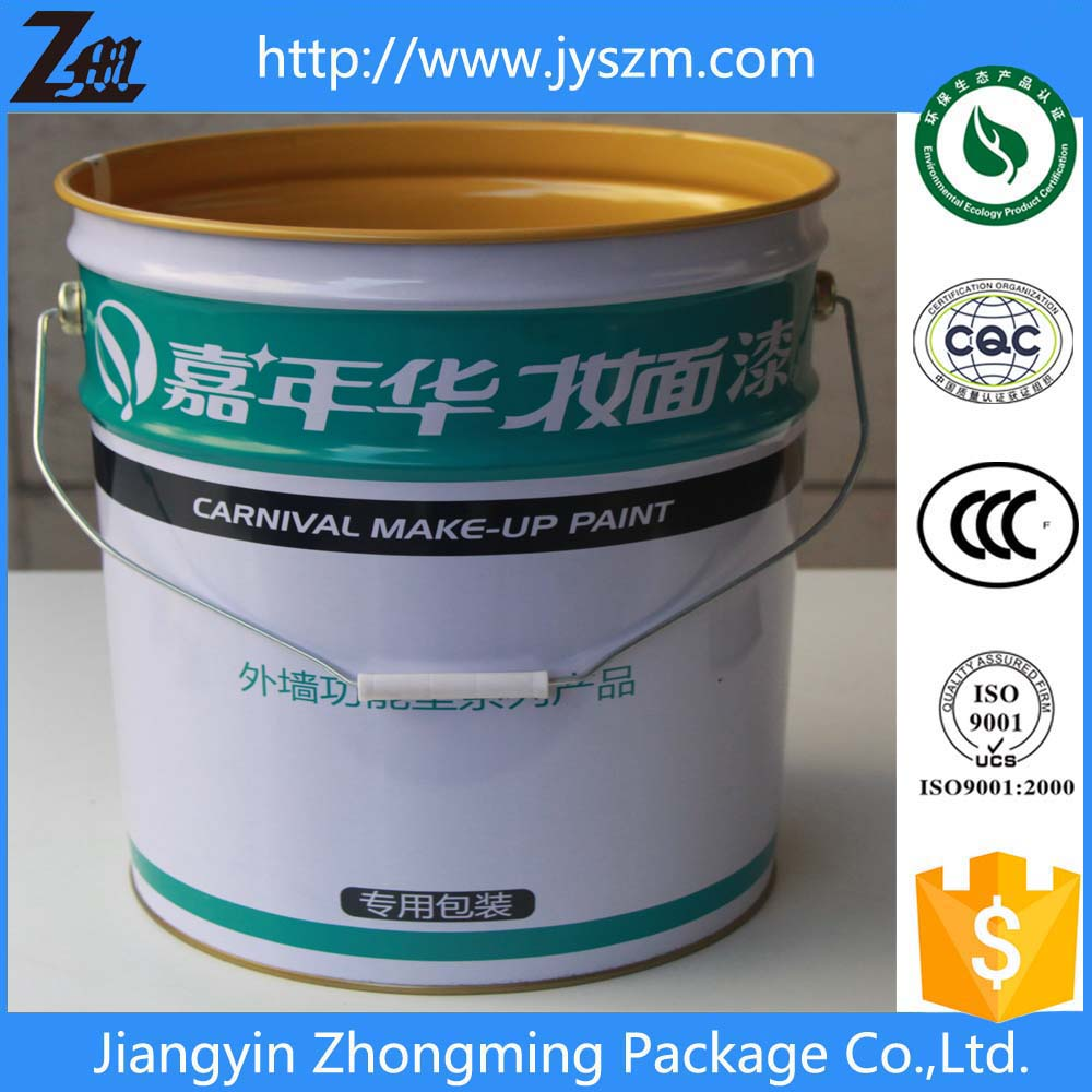 18L metal tin oil barrel with lid and handle sale