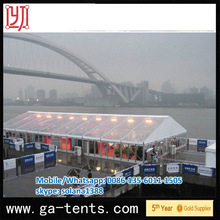 Firmly Aluminum structure weatherproof UV-resistant outdoor pyramid canopy supplier use for commercial activity