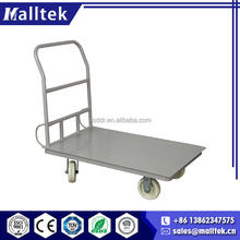 2017 ISO Luggage Steel Supermarket Platform Trolley