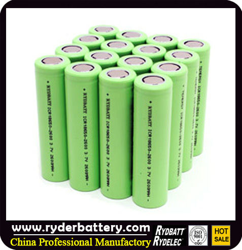 Rechargeable li-ion 18650 battery 18550 battery 18350 battery