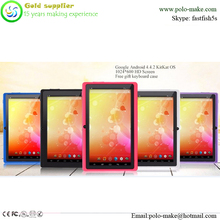 7 Inch Android 4.4.2 Capacitive Touch Screen Tablet PC with Dual Camera