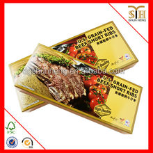 U.S. Grain-Fed beef short ribs food paper box