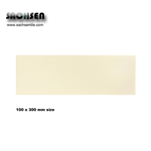 100x300 mm cream colour matt finishing flat brick pattern ceramic wall tiles for bathroom