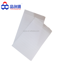 white buffer protection EPE foam pearl cotton mailer bag