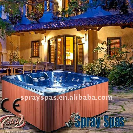 Fibreglass spa massage spa bath bathtub hot tub M-530D