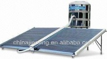 widely used new type direct flow solar vacuum tube collector