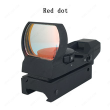 Tactical red dot sight weapons guns Picatiny red dot sight for rifle