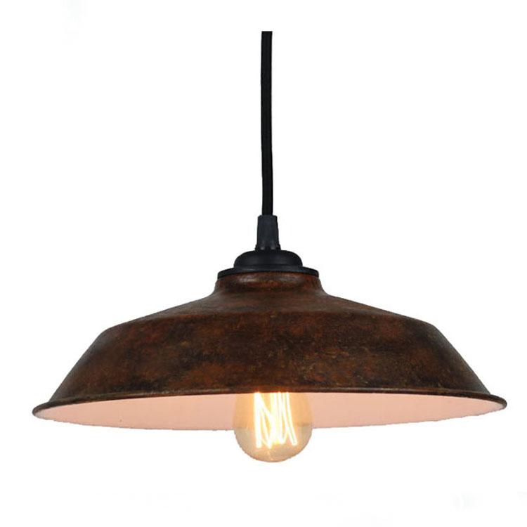 Modern Industrial Retro Pendant Light Metal Cover Ceiling Light Home Decor Chandelier Light
