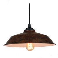 Modern Industrial Retro Pendant Light Metal