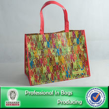 Wipe-clean RPET advertisement promotion bag eco bag recycled pet bag