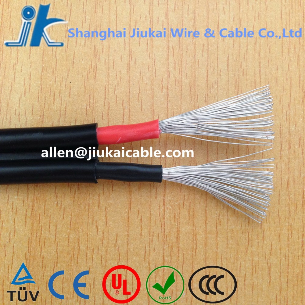 XLPE insulation TUV PV1-F 2x4mm Solar PV Cable 2x16mm solar cable