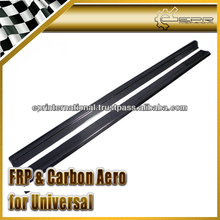 Universal Carbon Fiber Side Skirt Extension Add-on (190cm length, 10cm width)