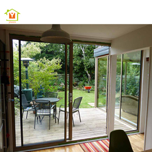 Luxury heat insulation aluminium glass veranda sliding doors