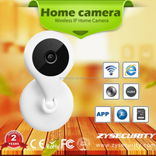 Two-way Audio HD wifi mini PTZ camera ,CCTV 720P wireless SD Card Home Security wireless camera, mobile phone Remote Camera
