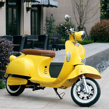 classic 2 wheel vespa electric scooter