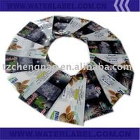 high quality pvc shrink sleeve/pvc shrink label with good design
