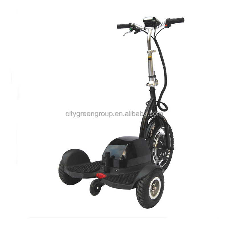 EEC green power disabled three wheel electric scooters with fat tire for adults