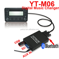 Car CD changer port accessories>>media kit with MP3 ,SD care ,USB ,Bluetooth
