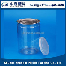 new product best price 1000ml clear pet plastic peanut butter container