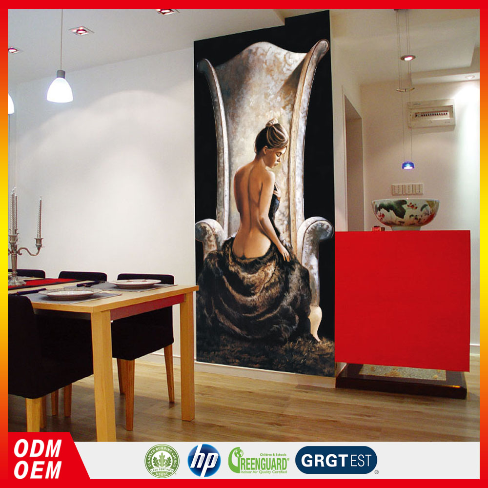 naked lady oil painting digital painting mural 3d sexy nude woman wall paper