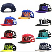 City Hunter Cf1400 New Big Letter Snapback hats - New York( 9 Colors)