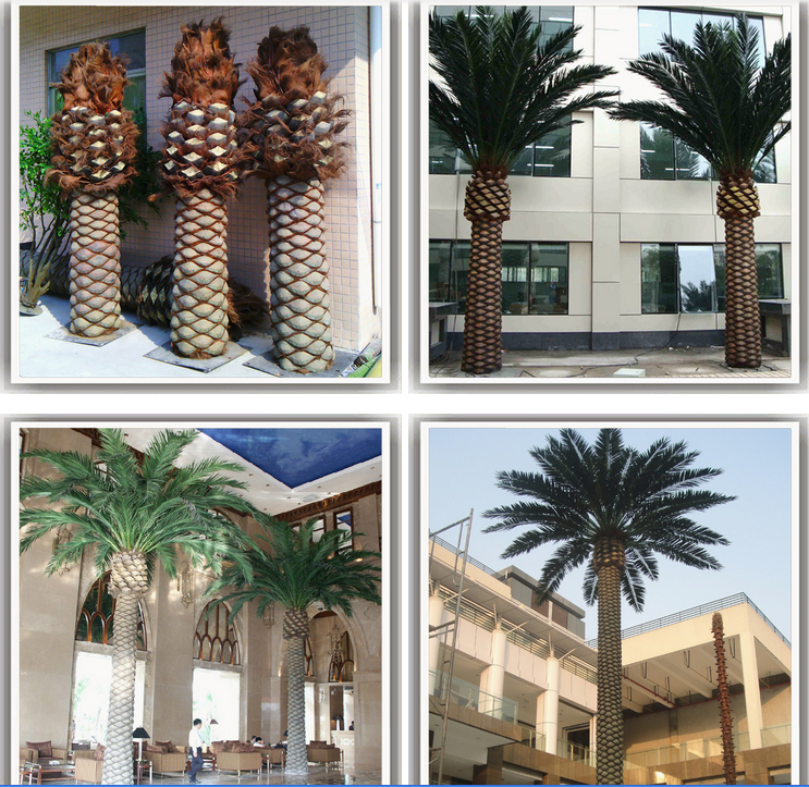 Artificial Date Palm Tree For Swimming Pool Decoration Buy Indoor Artificial Palm Trees
