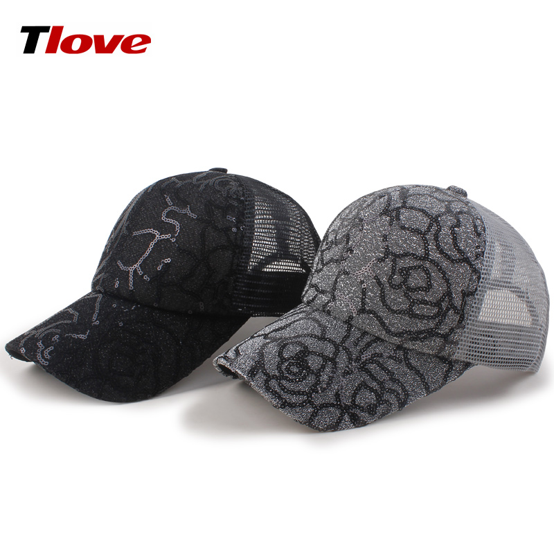 2018 New Style Plastic Buckle Detective Hang Tag Half Mesh Cap and Hat